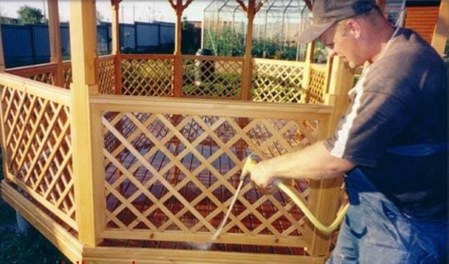 Деревянные решетки для веранды своими руками 55